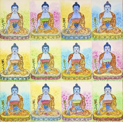 Twelve Buddhas
