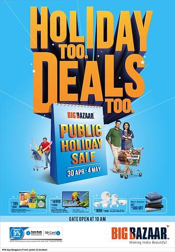 Big Bazaar Public Holiday Sale