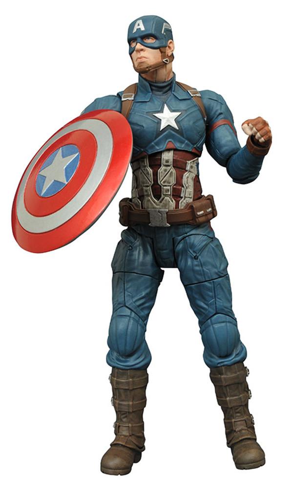 Marvel Select 美國隊長3:英雄內戰系列【美國隊長】Captain America 7 吋人偶作品