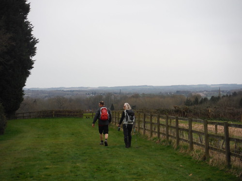 Views of Hampshire Downs and Kennet Valley from Wooten's