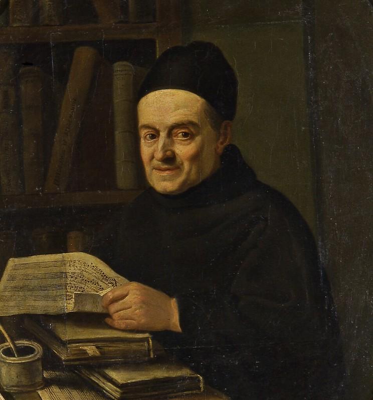 Angelo Carescimbeni - Ritratto di Padre Giovanni Battista Martini (c.1770)