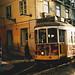 Tram 28 at dawn, Lisbon by Ray Liu (Photographer)