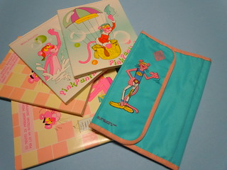 Pink Panther 1986 Stationery