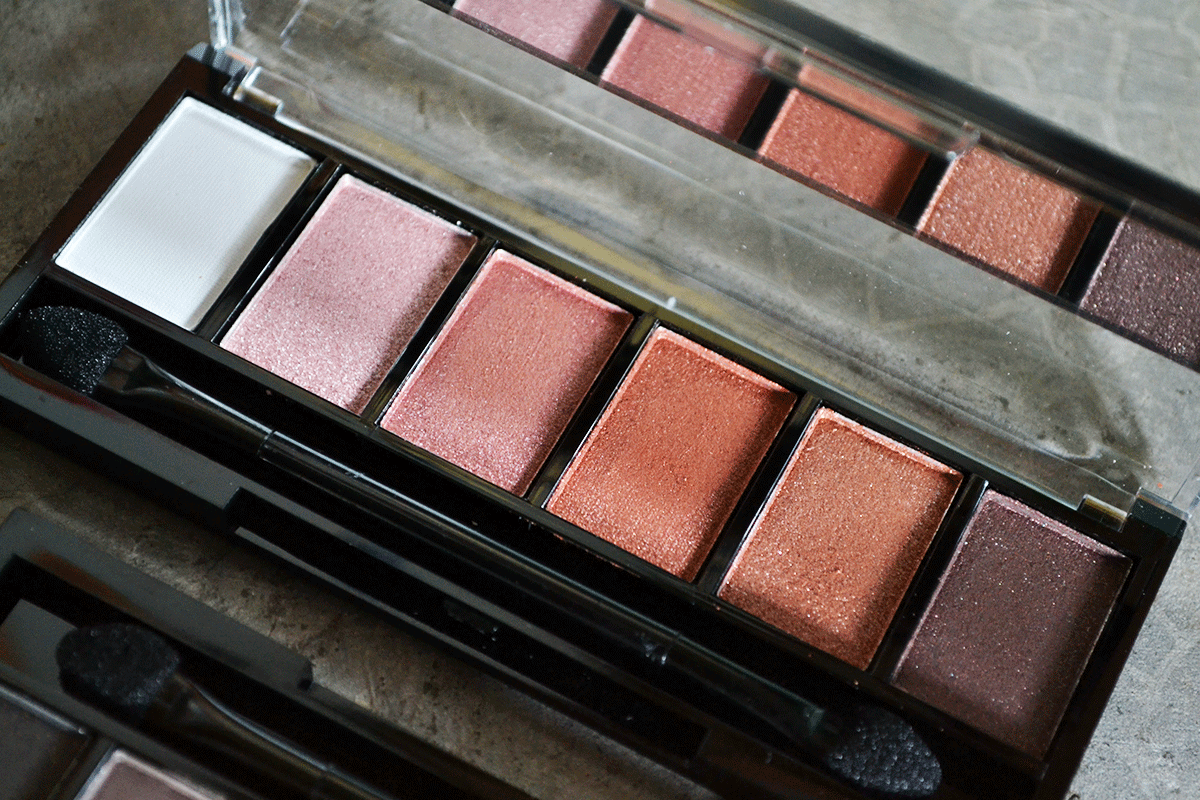 Ever Bilena Eyeshadow Palette (Pink and Brown) Review and Swatches