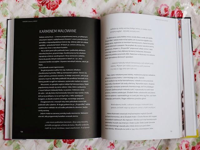 książka, recenzja, Kanony kobiecej urody, Dorota Golińska, makijaż, instrukcje, pielęgnacja urody, historia, starożytny Egipt, Grecja, Rzym, średniowiecze, barok, rokoko, wiek XIX, lata '50., lata '60., lata '70., lata '80.
