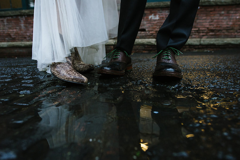 Shoes and Puddles