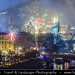 Czech Republic - Prague - Praha - Bridges over the Vltava river at Night during New Year's Firework display by © Lucie Debelkova / www.luciedebelkova.com