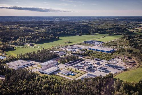 sverige industri swe västragötaland flygfoto timmele ubbarp