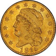 1815 half Eagle obverse