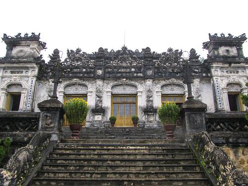 Hué: le Temple et Tombeau de Khai Dinh