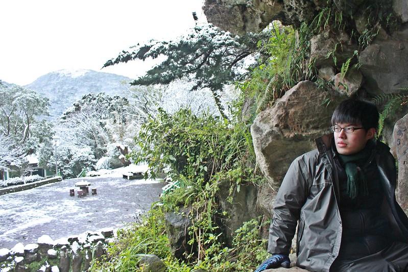2016-台北陽明山-瑞雪-難得一見的雪白山景-17度C隨拍 (112)