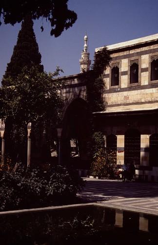 palace syria damascus palast azeem damaskus syrien azim