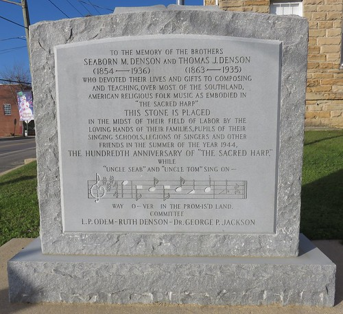 Denson Brothers Monument (Double Springs, Alabama)