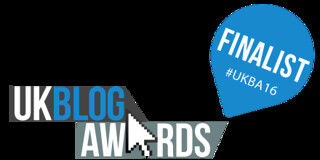 UK Blog Awards 2016 - I'm a finalist