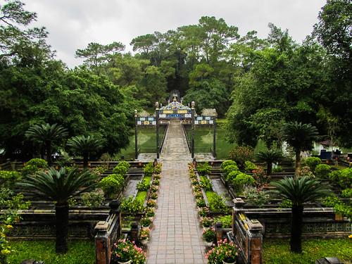 Hué: le Tombeau de Minh Mang