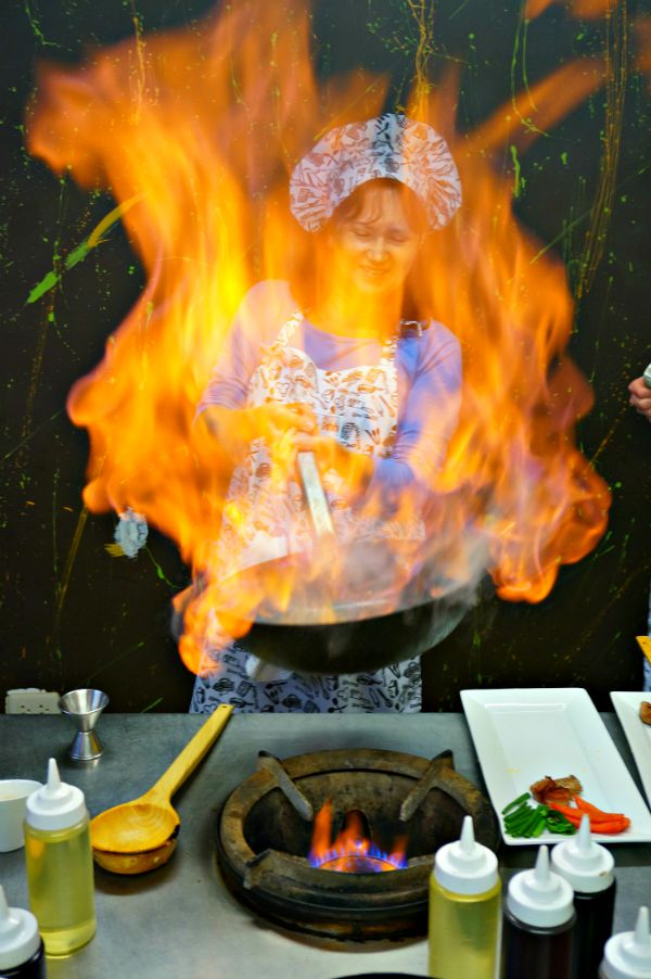 Learning to Flambe