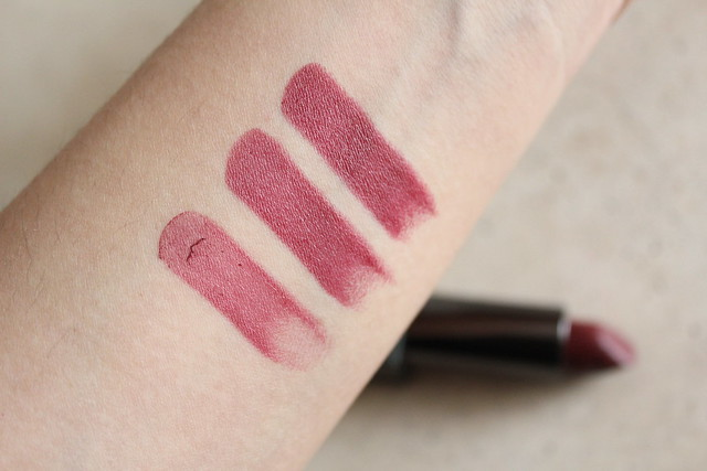 Burberry Lip Velvet lipstick in Oxblood review and swatch