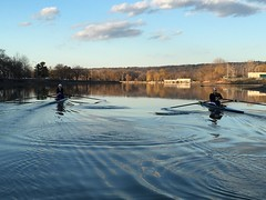 Sunday row in February