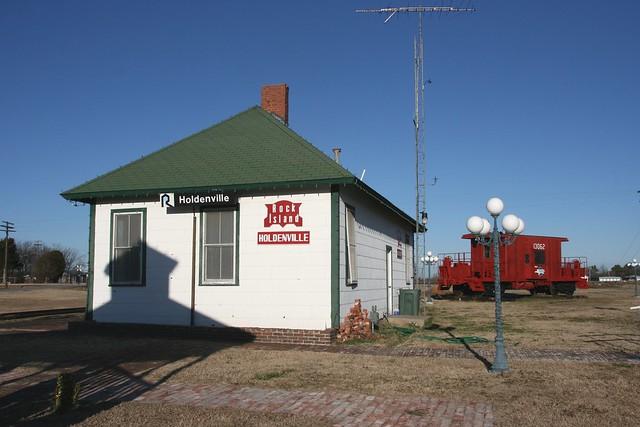 CRIP Depot at Holdenville Oklahoma