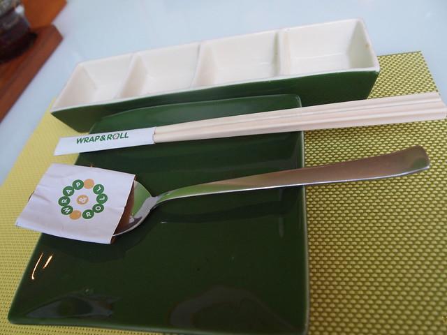 P6279955 Wrap & Roll ラップ&ロール ベトナム ホーチミン 生春巻き専門店