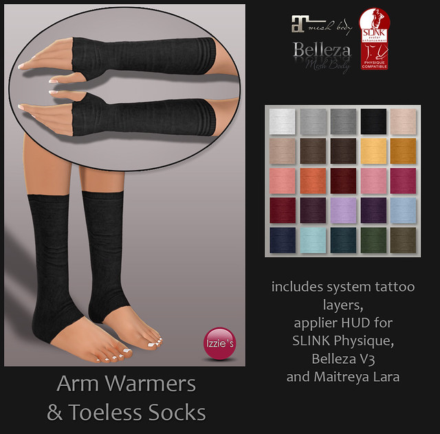 Arm Warmers & Toeless Socks (for TLC)