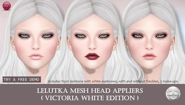 Victoria White Edition LeLutka Applier (for FLF)