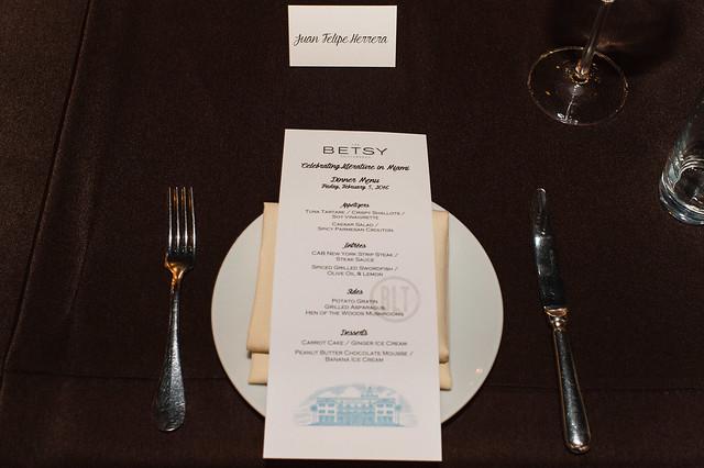 Betsy Literary Dinner 2016