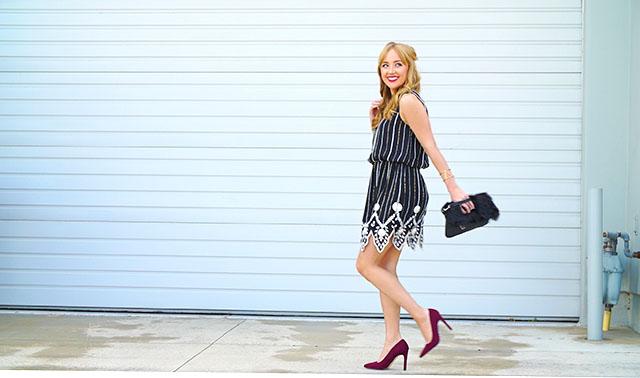 Hannah-hagler, Hannah-champagne-lifestyle, champagne-lifestyle, champagne-lifestyle-blog, fashion-blogger, affordable-fashion-blogger, budget-friendly-fashion-blog, budget-friendly-fashion-blogger, beauty-blogger, youtuber, female-youtuber, interior-designer, affordable-fashion, chic-fashion-ideas, fashion-inspiration, flapper-inspired, greylin-beaded-dress, forever-21-burgundy-heels, forever-21-pointy-toe-heels, faux-fur-clutch, greylin-vodka-faux-leather-dress