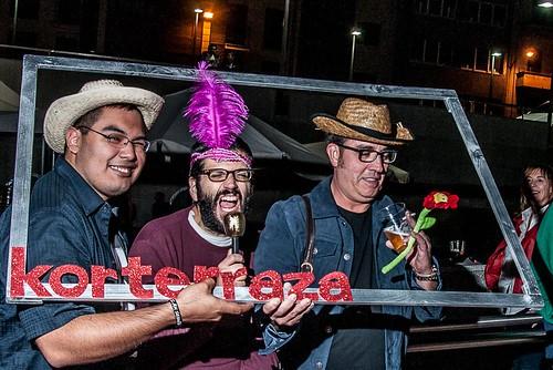 "Korterraza Gasteiz 2015, Photocall y ""Pillados"""