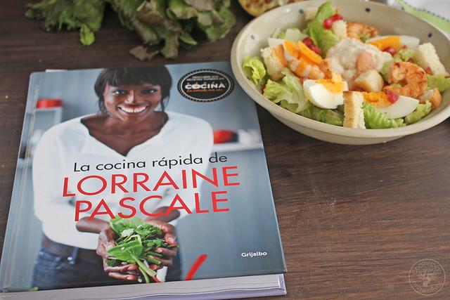 Ensalada Cesar con langostinos www.cocinandoentreolivos.com (19)