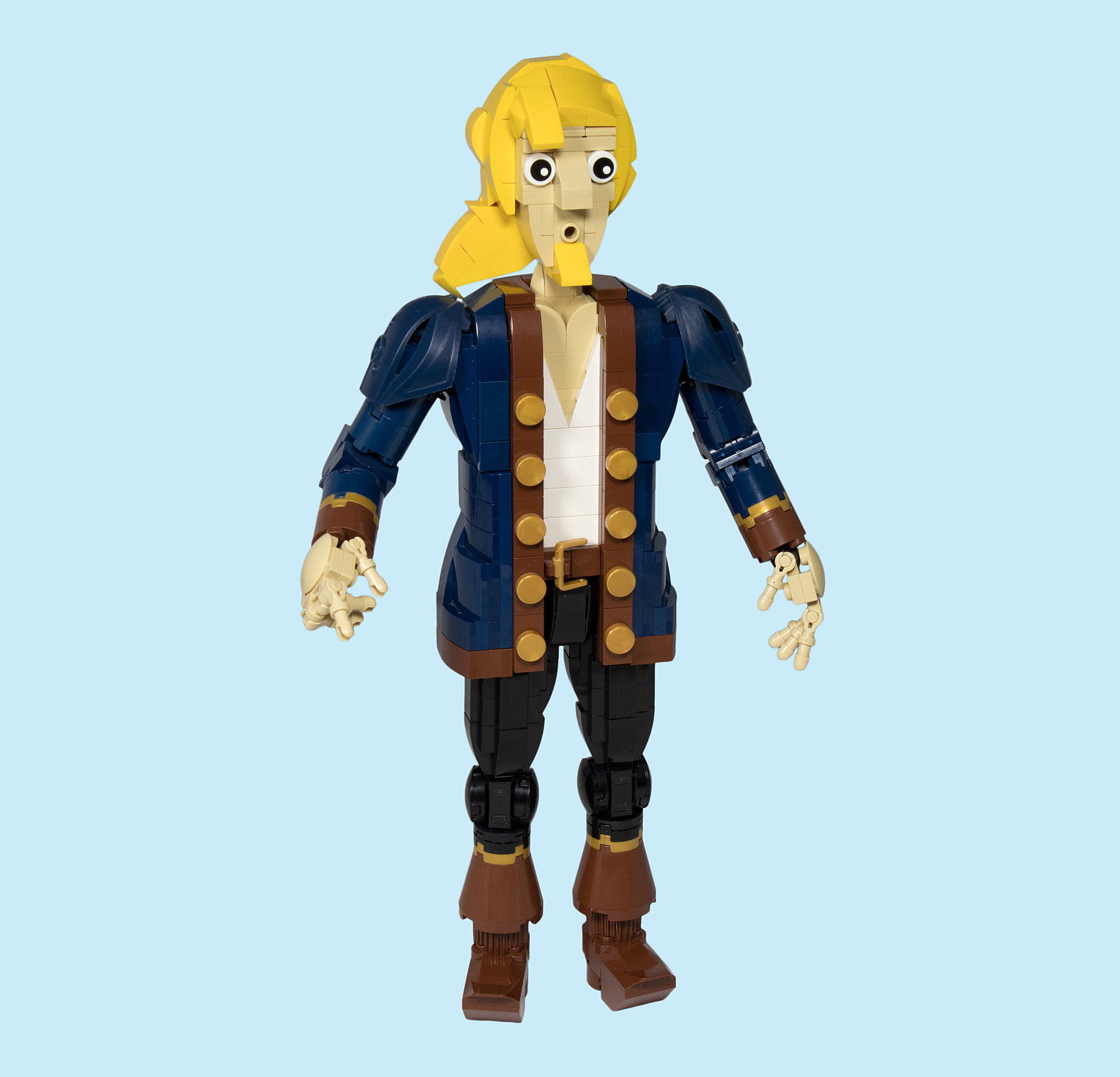 LEGO® MOC by Vitreolum: Guybrush Threepwood v2