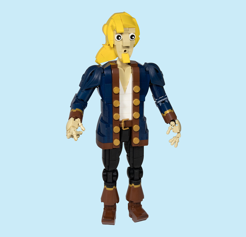 LEGO® MOC by Vitreolum: Guybrush Threepwood v3