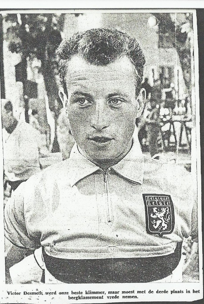Victor Desmeth, squadra Dr Mann,  Tour de l'avenir 1961,independant (inviata da Jean-Marie Desmeth)