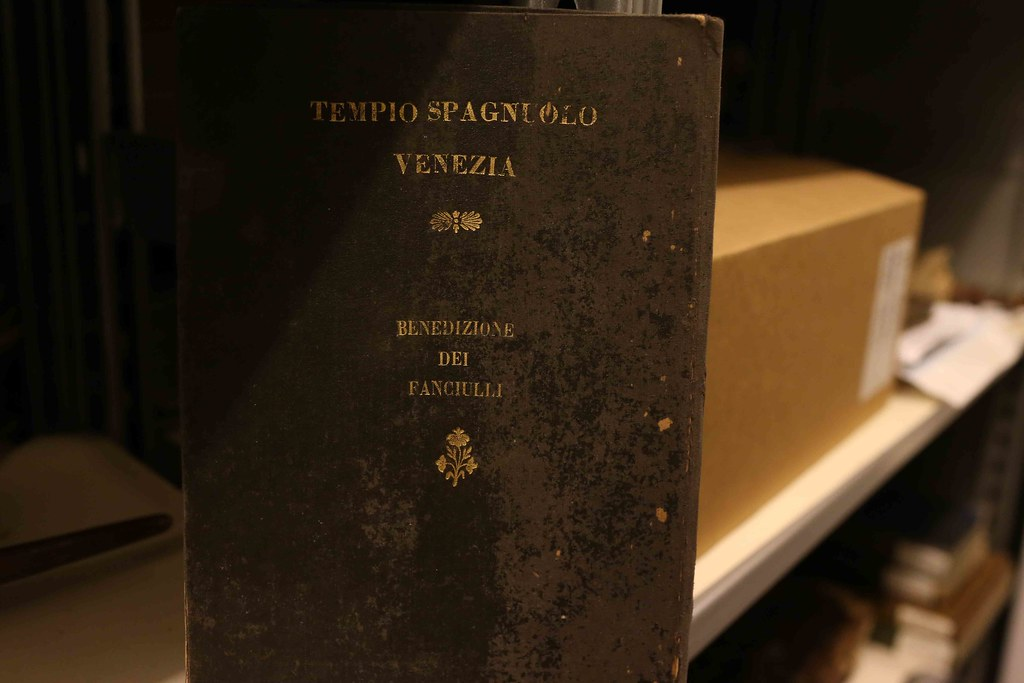 City Library - Renato Maestro's Book, Venice Ghetto