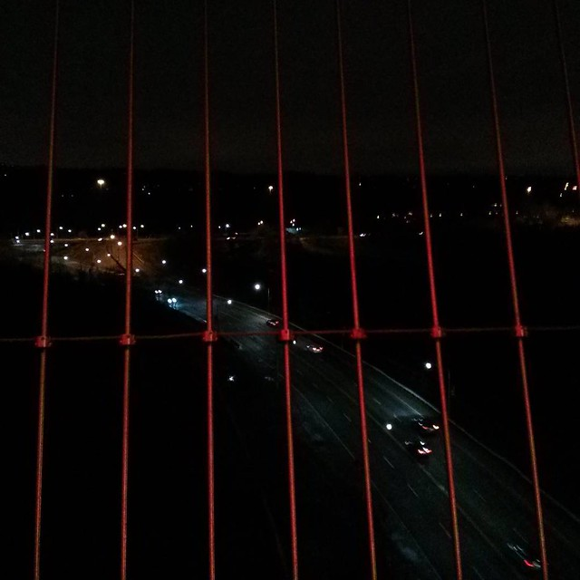 Skeins of highways #toronto #princeedeardviaduct #luminousveil #donvalley #donvalleyparkway