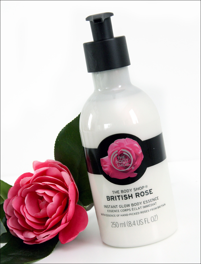 TBS british rose instant glow body essence