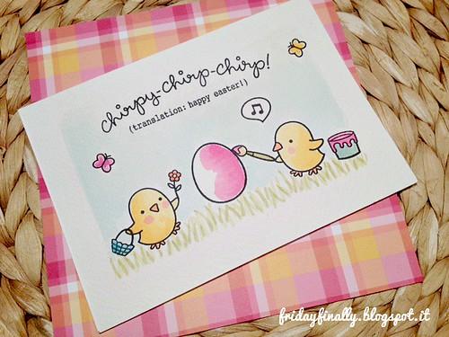 ChirpyChirpChirp HappyEaster LF postcard detail