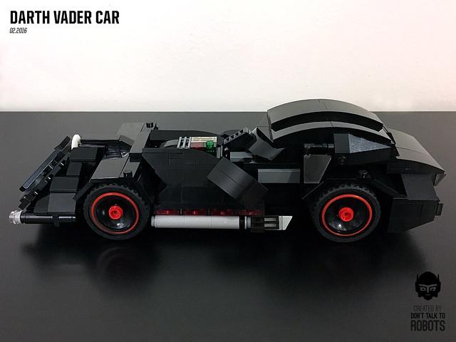 LEGO Darth Vader Car