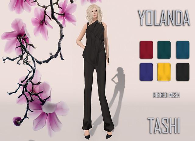 TASHI Yolanda