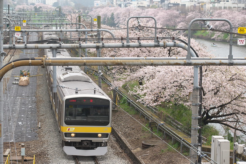 Tokyo Train Story 中央線・総武線 2016年4月3日