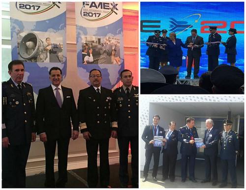 Participación de delegación mexicana en la Feria Internacional del Aire y del Espacio