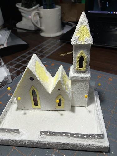 windows for the Putz church