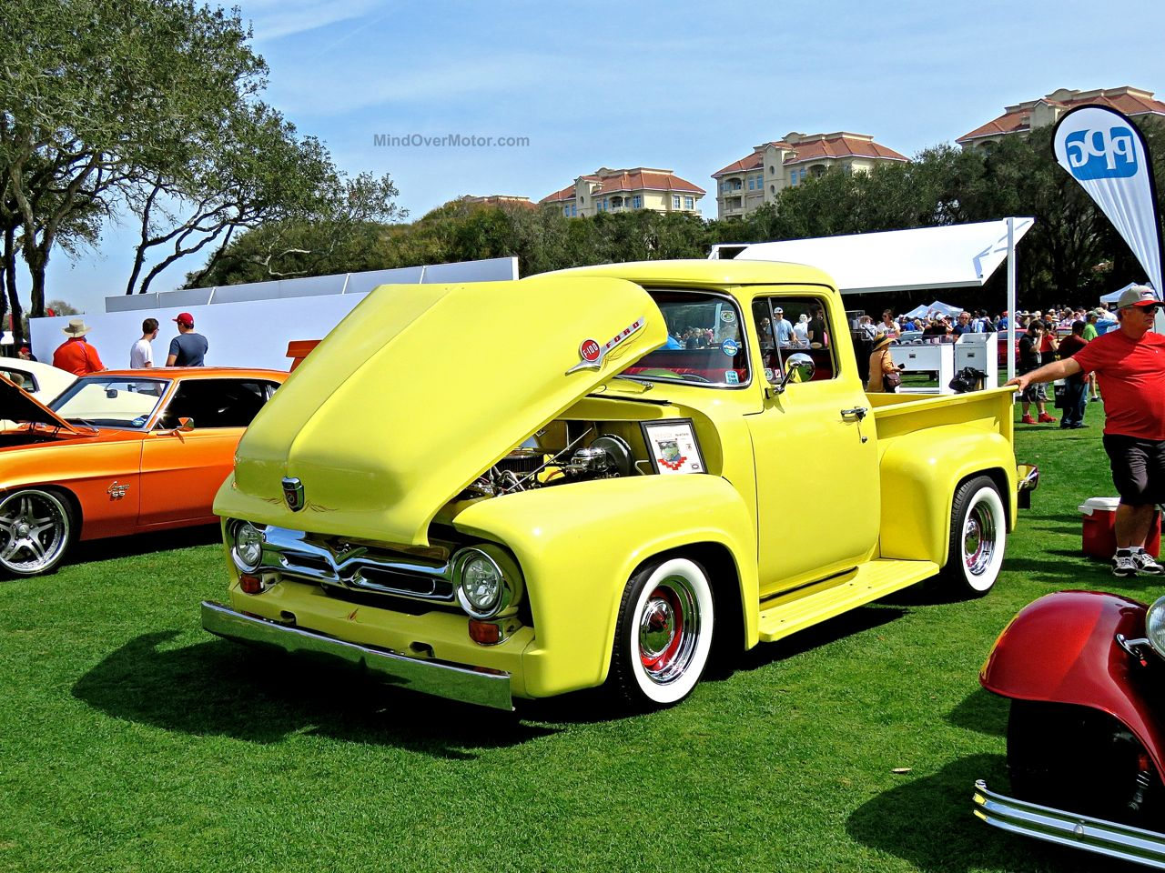 Custom Ford F-100 at Amelia Island 1