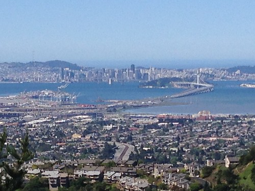 Overlook.. Oakland to SF