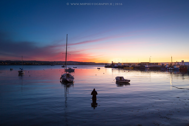 Sunset at Skerries Harbour