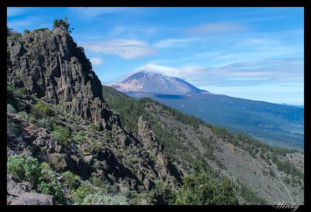 Tenerife Parque Nacional Teide Valle la Orotava - Mirador de Ayosa