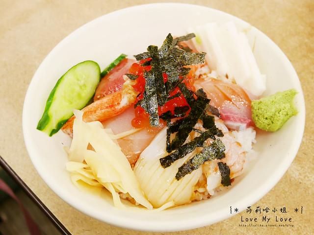 台北西門町美食餐廳推薦美觀園生魚片飯 (9)