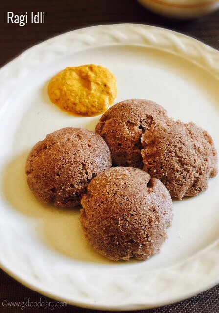 Ragi Idli Dosa Recipe for Babies, Toddlers and Kids1
