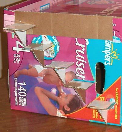 How to: No Sew Fleece Cube / Box Shelf 26300881405_728b00e905