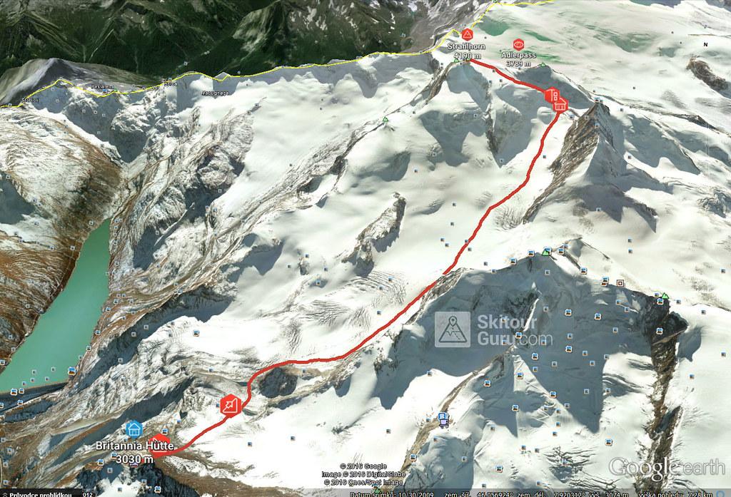Strahlhorn Walliser Alpen / Alpes valaisannes Schweiz foto 25